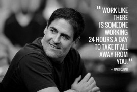 Josh Peace Looks at the Mark Cuban Philosophy for Getting Things Done